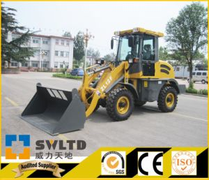 Kubota Engine Small Wheel Loader Zl 12f with CE pictures & photos