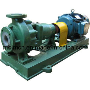 Fluoroplastic Lined Centrifugal Chemical Process Pump pictures & photos