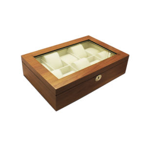 10 Slots Gloss Lacquer Wood Watch Storage Box pictures & photos