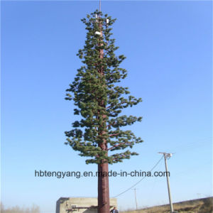 Galvanized Palm Tree Tower / Camouflaged Pine Tree Tower Made in China pictures & photos