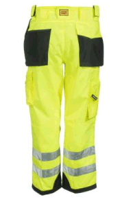 Men′s Yellow Hi Vis Trademark Trouser Pants Uniform Workwear pictures & photos