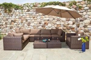 PE Rattan Sofa Seats (6112)