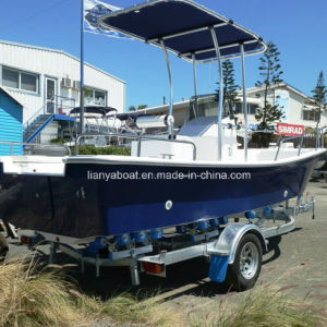 Liya 25ft Fiberglass Speed Fishing Boat with Engines for Sale pictures & photos