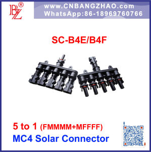 Mc4 Compatible Solar Branch Connector 5 to 1 Multi-Connector pictures & photos