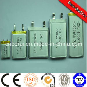 UL1642 Approved Lithium Polymer Rechargeable Battery 3.7V 600mAh 502847 pictures & photos