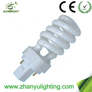 PLC Half Spiral Energy Saving Lamp pictures & photos