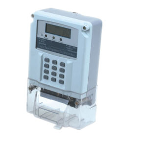 Sts 20 Digit Prepayment Electricity Meter for AMR System pictures & photos