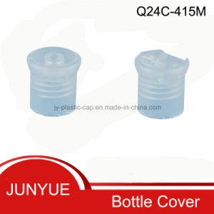 (Q24C-415M) Plastic Bottle Disc Top Cap pictures & photos