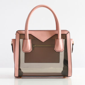 New! ! Candy PVC Designer Handbags with Top Quality Cowhide Leather