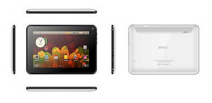 7′′ Tablet PC, A13, Cortex A8@1GHz, 3D Speed, Android 4.0, 800*400, Support WiFi, GPS