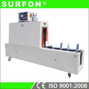 Economical Shampoo Bottle Thermal Label Shrink Packing Machine pictures & photos