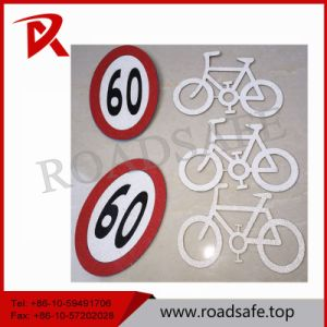 Road Safety Pedestrian Marking Tape with Reflective Glass Beads pictures & photos