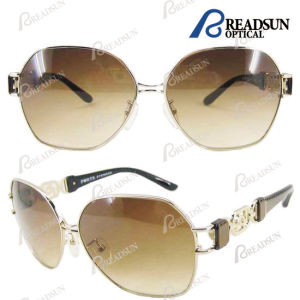 Beach Shade High Quality Metal Sunglass with Cr39 Sunglasses (SM606020) pictures & photos