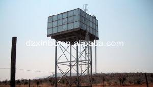 Elevated Steel Tower Water Tank