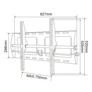 Plasma LCD LED TV Bracket for 37 to 62 Inch pictures & photos