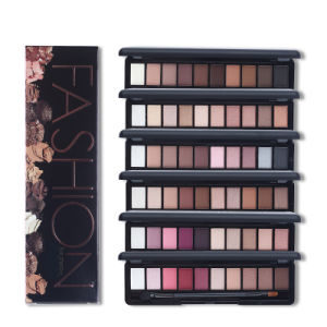 Eye Makeup Palette 10 Colors Shimmer Matte Eyeshadow Set with Brush Es0316 pictures & photos