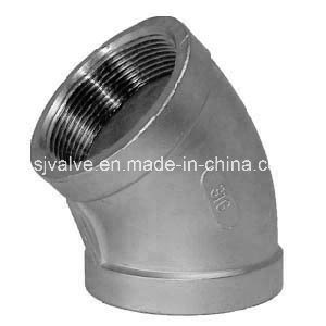 Stainless Steel 150psi 45 Degree Elbow pictures & photos