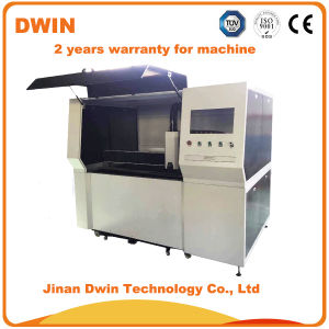 500W Small Fiber Laser Metal Cutting Machine for Stainless Steel pictures & photos
