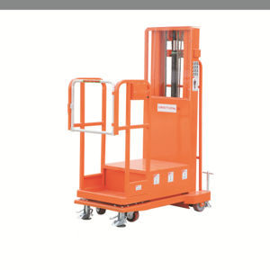 Semi Electric Aerial Order Picker pictures & photos