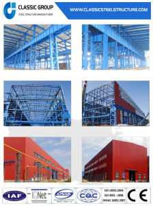 High Technical Standard Prefabricated Steel Structure Warehouse pictures & photos