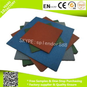 Bulk Outdoor Playground Rubber Mats pictures & photos