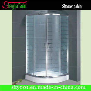 Quadrant Frosted Glass Quality Luxury Shower Enclosure (TL-545) pictures & photos