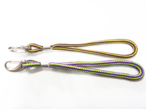 Polyester Round Metal Hook Lanyard pictures & photos