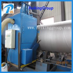 External Surface of Steel Pipe Sand Shot Blasting Machine pictures & photos