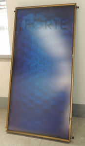 Flat Panel High Pressure Blue Sputtering Absorber Solar Collector pictures & photos
