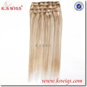 New Arrival Design Brazilian Clip on Remy Hair pictures & photos