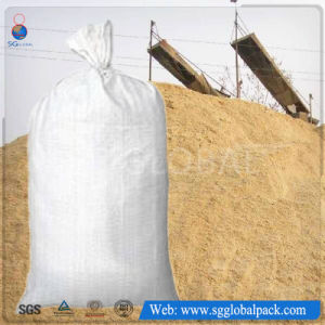 Polypropylene 50kg PP Woven River Flood Sandbag pictures & photos