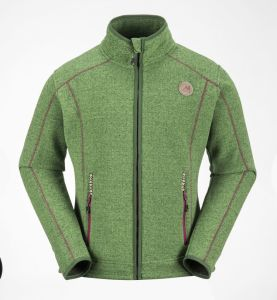 Green Men′s Fleece Jacket for 2017 New Arrival pictures & photos