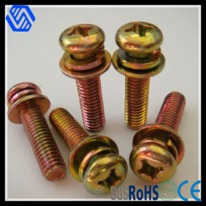 Cross Recessed Pan Head Screw GB9074 pictures & photos