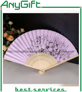 Chinese Bamboo Fan with Customized Color and Logo pictures & photos