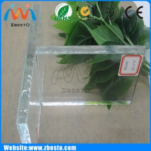 5mm 6mm Ultra Clear High Transparent Glass Slab