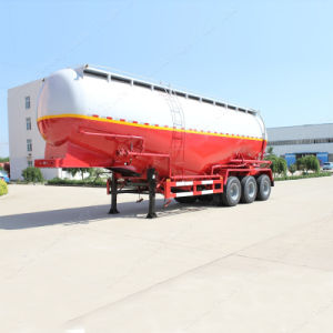 40-60m3 Vertical Bulk Cement Tanker/Tank Semi Truck Trailer pictures & photos