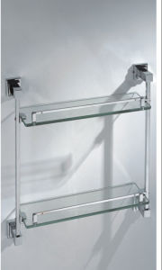 Double Tier Glass Shelf (9620) pictures & photos