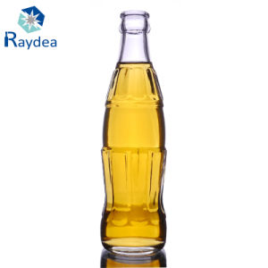 250ml Glass Beverage Bottle in Flint Glass pictures & photos