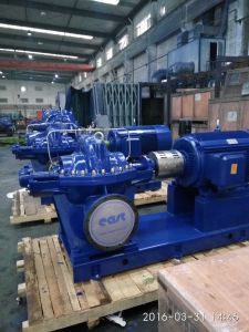 Single Stage Split Casing Water Pump with Ce Certificates Flow: 3200m3/H Head: 30m pictures & photos