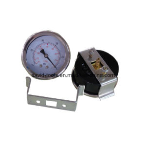 U Shelf Steel Crimple Case Vacuum Manometer