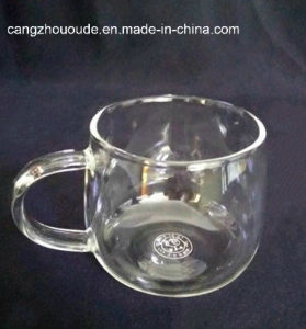 New Design Clear Glass Cup Glass Tea Cup pictures & photos