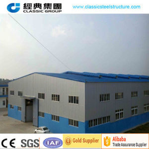 Steel Structure Economic Low Cost Prefabricated Warehouse pictures & photos