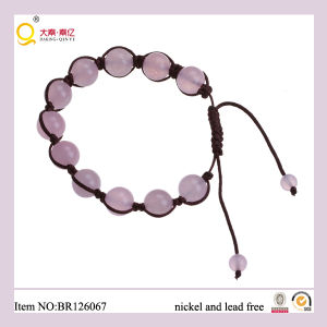Romantic 10mm Rose Quartz Moonstone Bracelet pictures & photos