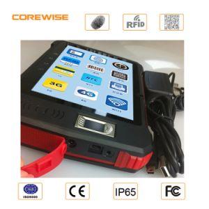 Andorid 7′′ Handheld Rugged Handheld Hf RFID Reader Price of Biometrics Fingerprint Scanner/ Barcode Scanner 508dpi UHF 1d/2D Barcode Scanne pictures & photos