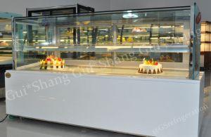 Square Cake Displayer Refrigerator CE RoHS