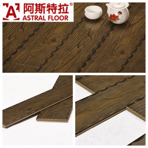 Classic Style Embossed 12.3mm Laminate Flooring pictures & photos