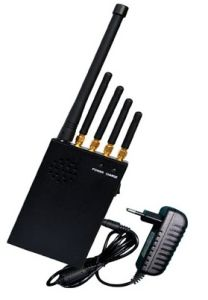 5 Channel Signal GSM Jammer, Mini Portable GPS Jammer