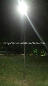 50W All in One Solar Street Lamp for Outdoor Fixture Integrated Solar LED Garden Lamp Motion Sensor Light pictures & photos