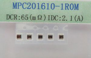 Molding Power Inductor 1.0uh 20%, IDC~ 2.1AMP, Dcr~ 0.065ohm pictures & photos