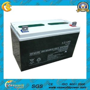 Solar Power Battery 12V50ah Made in China pictures & photos